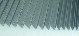 Pleated Polyester Insect Screen
